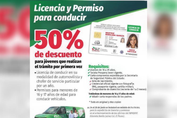 Autoriza Sefin 50 De Descuento En Licencias De Manejo